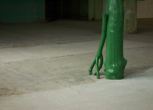 Syncretic Hut, detail, The 2nd Ural Industrial Biennale of Contemporary Art, 2012