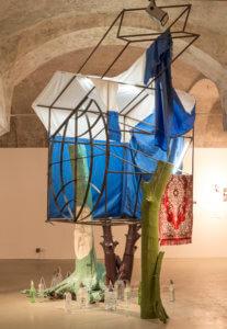 Syncretic Hut, installation view, Goszakaz, Winzavod, 2013